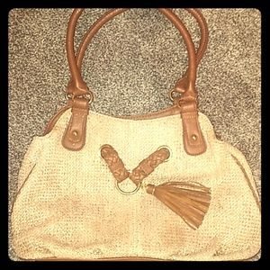 Apt 9 Gold and Tan pocketbook